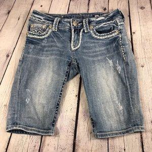 Miss Me 'Sunny Bermuda' Shorts Summerland Size 26